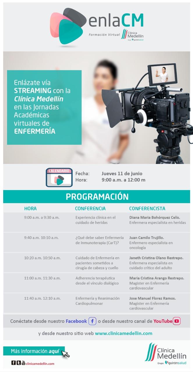 enlaCM: Jornadas virtuales de enfermería