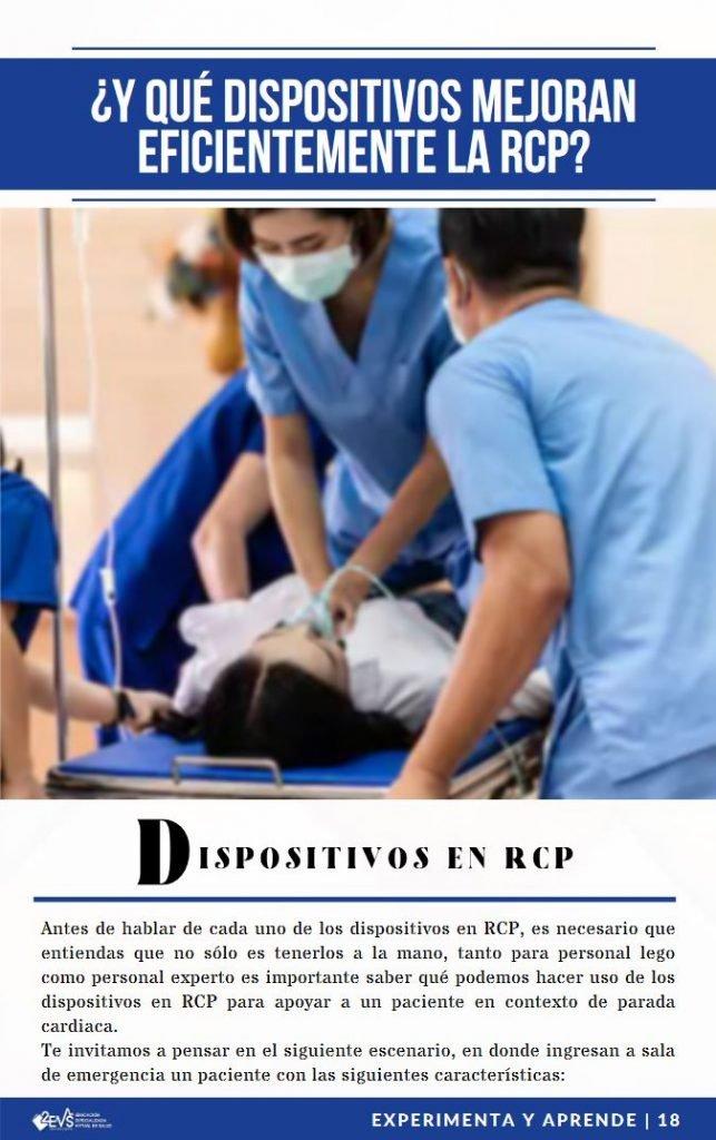 Dispositivos para reanimación cardiopulmonar RCP - eBook Soporte Vital Básico con Aspectos avanzados
